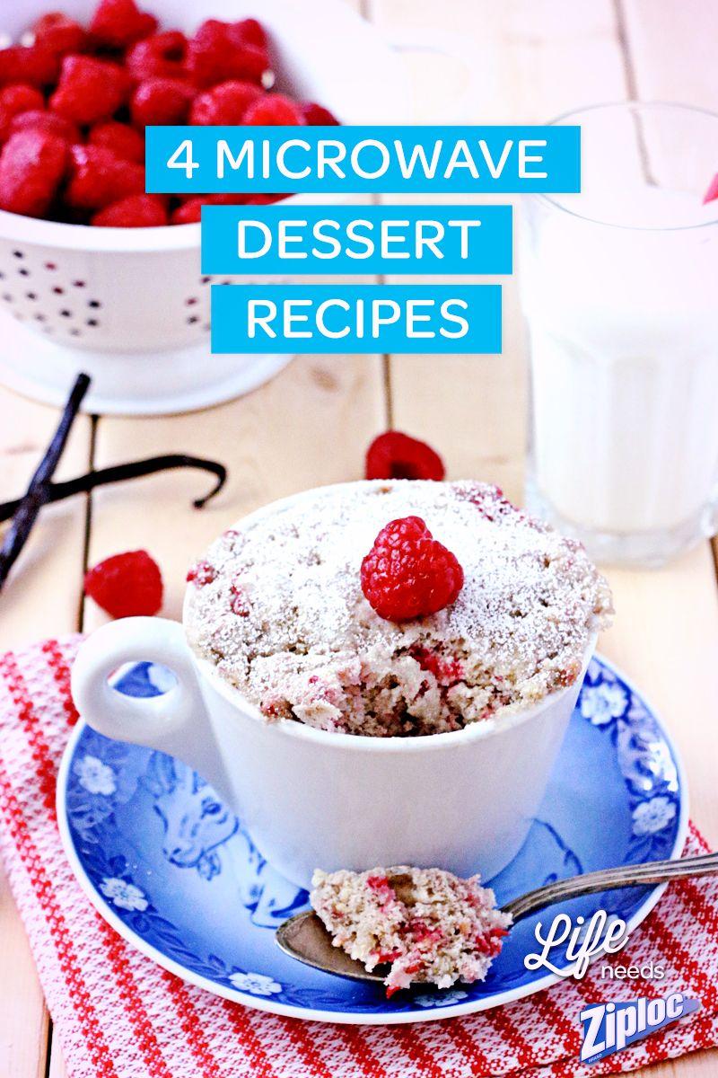 This Raspberry Vanilla Mug cake looks amazing - and it was ...