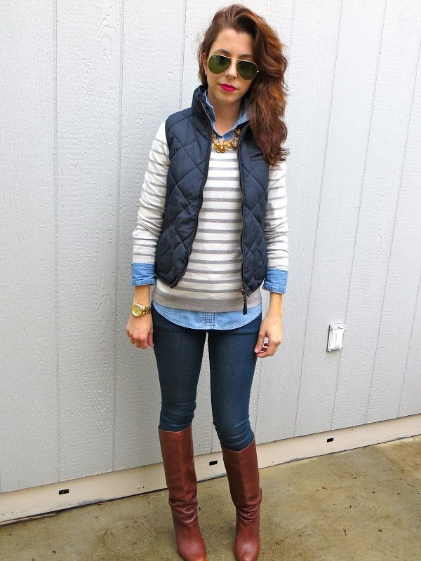 Collared Shirt Under Sweater Womens
