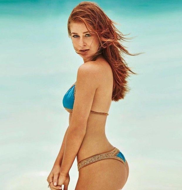 Marina Ruy Barbosa Capricha Em Pose De Biqu 237 Ni Redheads