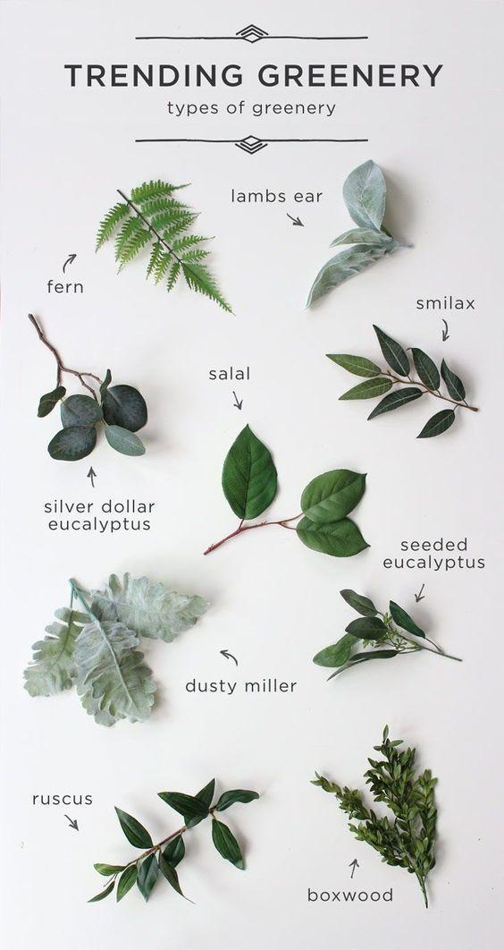 Amazing Greenery Botanical Foliage Herbs Garden Natural Wedding Decor Perf New Ideas 結婚式 装飾 ウェディング ブライダルブーケ