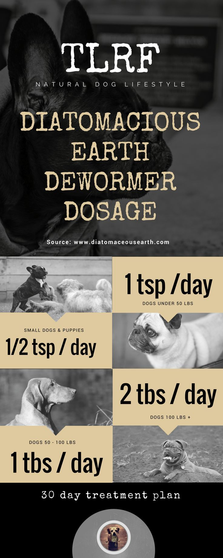 Deworming Dogs with Diatomaceous Earth Deworming dogs