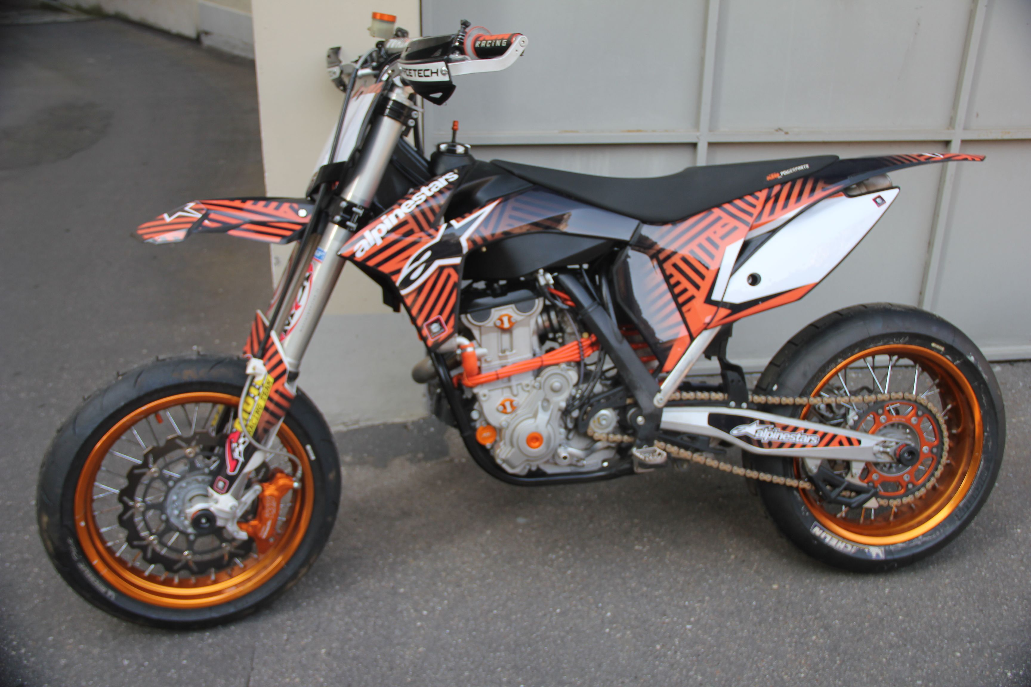 KTM 450 Supermoto