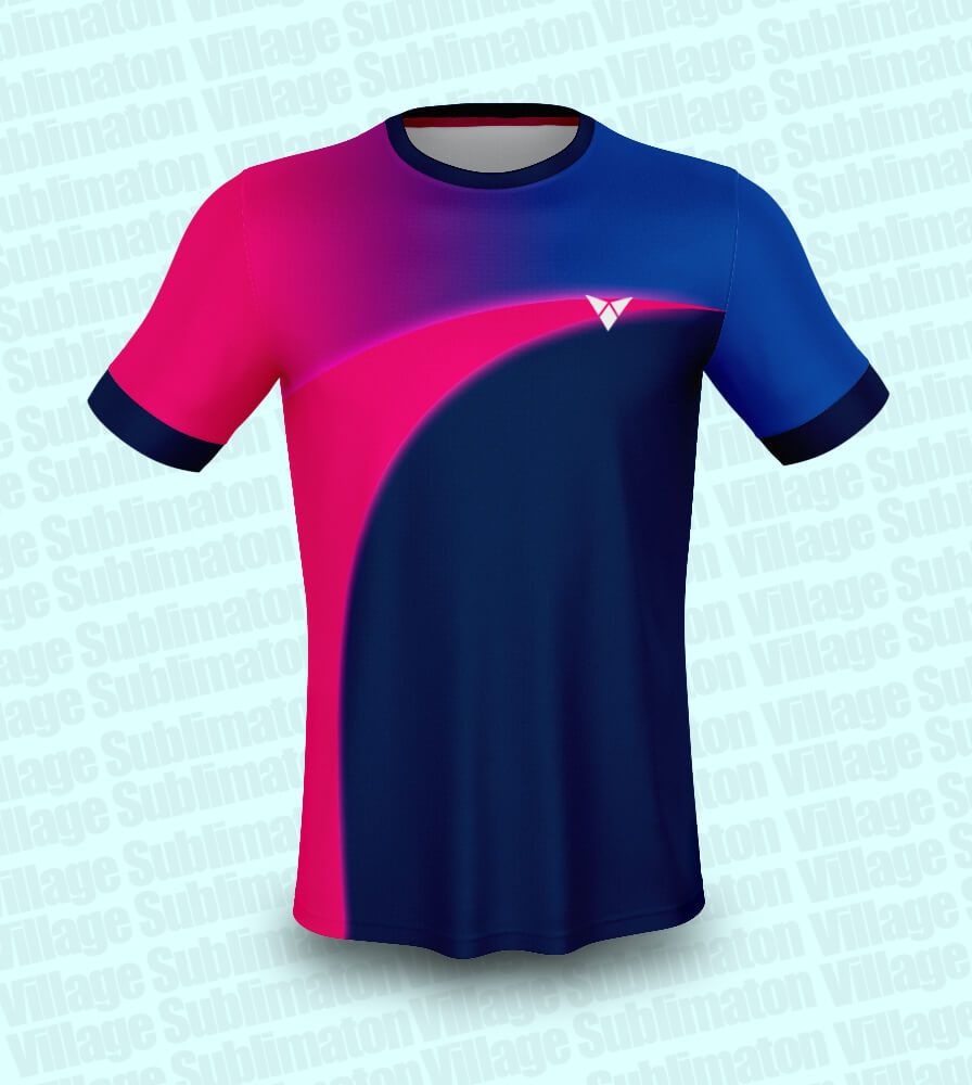 Hey Check This Navy Blue And Pink Cricket Jersey Design Rs 150 00 Https Buyjerseydesign Com Index Php Option Com J2store In 2020 Jersey Design Jersey Psd Designs