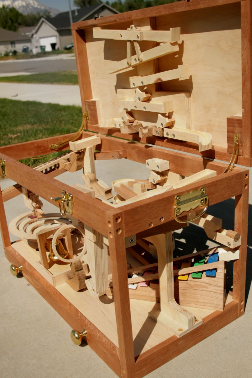 wood marble run plans | for my son | wooden marble run