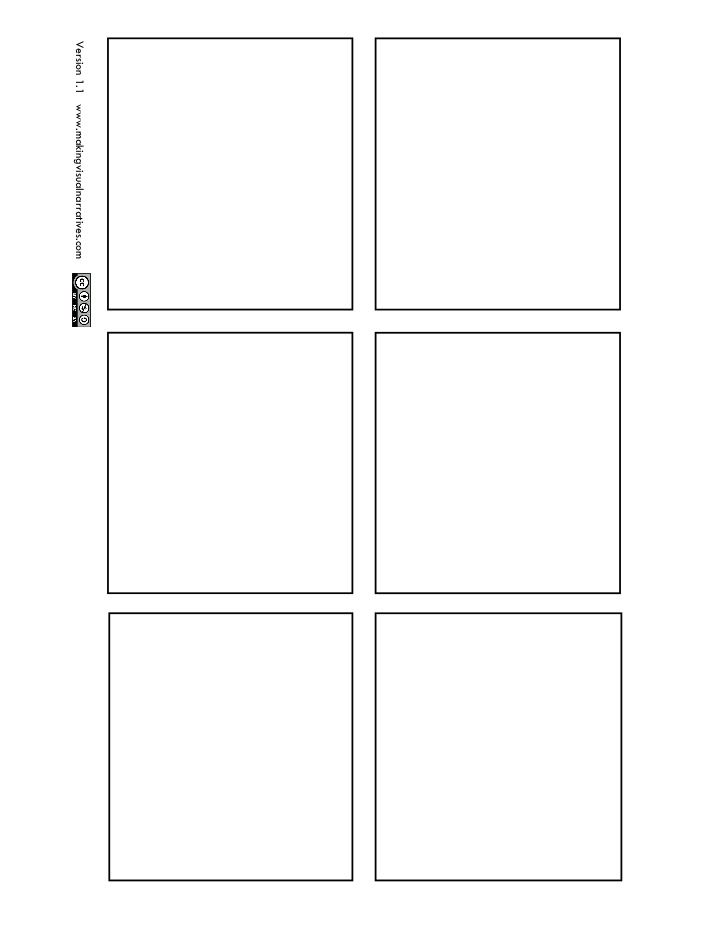 six panel comic strip template  7 Panel Comic Book Page by grantthomasonline via slideshare ...