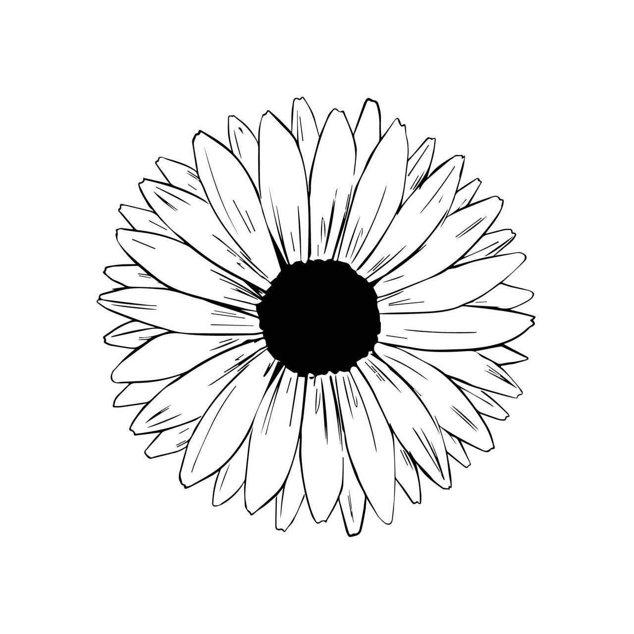 Free Sunflower SVG Cut File Free SVG Cut Files | Decorative