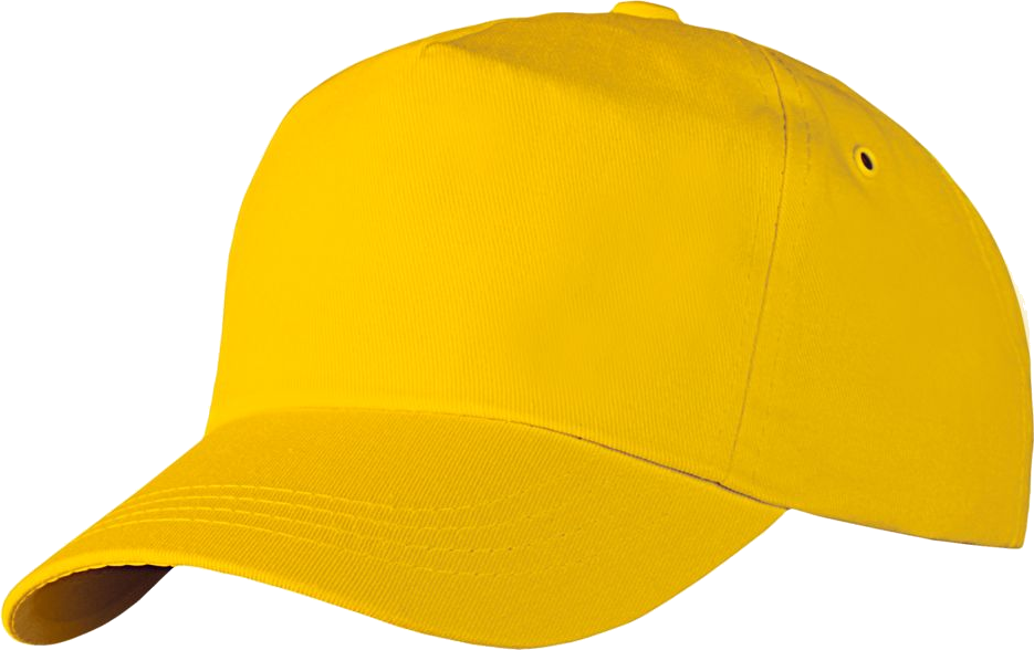 Featuddrced Face Cotton Yellow Cap Png Image Baseball Cap Yellow Clothes Yellow