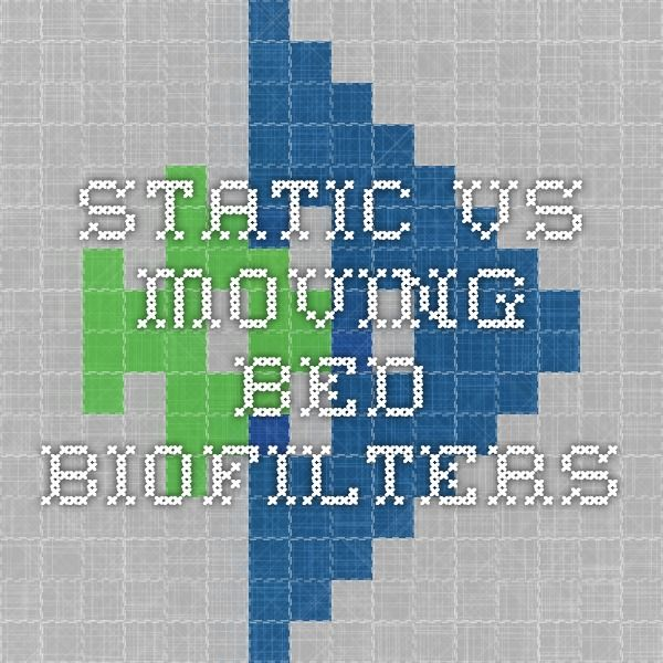 Static vs Moving Bed Biofilters