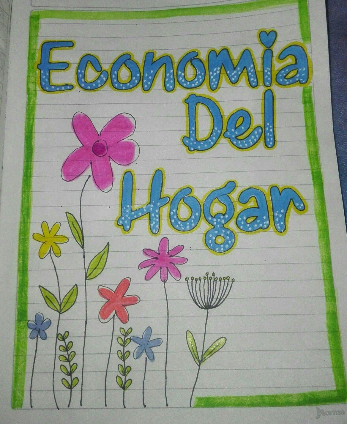 Rea de econom a del hogar marcados cuadernos for Decoracion del hogar facil y economico