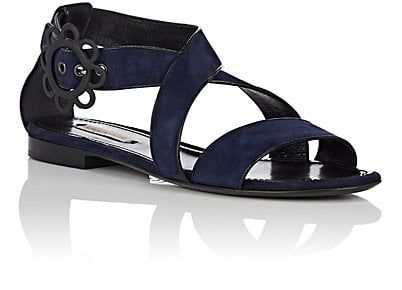 View Online Womens Daisy-Buckle Suede Sandals Fabrizio Viti Outlet Discount Authentic Outlet Really View O87jAjJ1eu