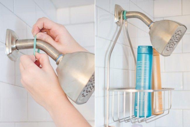 shower-caddy | DIY | Pinterest | Rubber bands