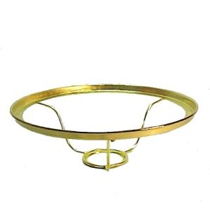 Solid Brass Shade Ring Holder For Aladdin Kerosene Oil Lamp High Quality Lighting Replacement Designed To Fit AladdinR Brand Burners Lamps