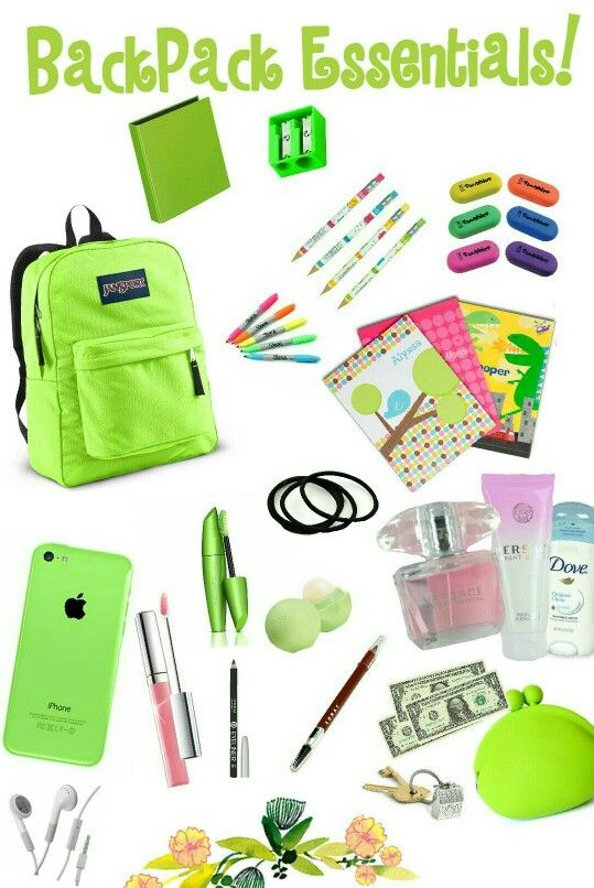 02e020c957 Everything a teen girl should have in a purse or backpack for school! Be  Prepared  )