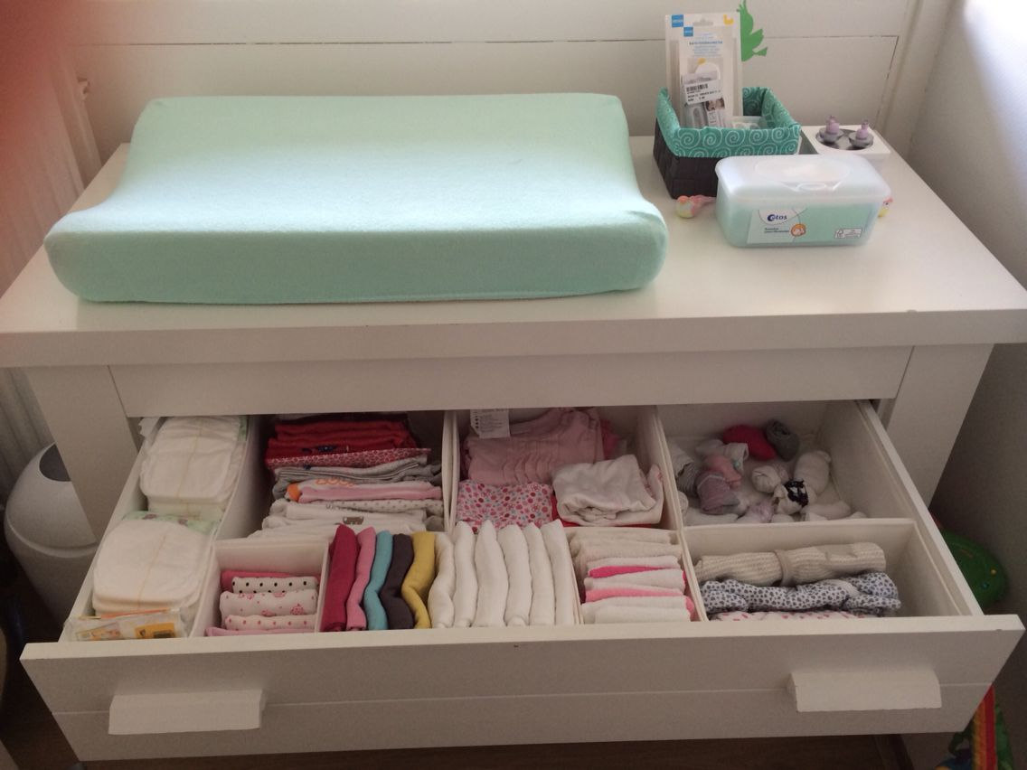 Indeling commode baby kamer pinterest baby closet organization