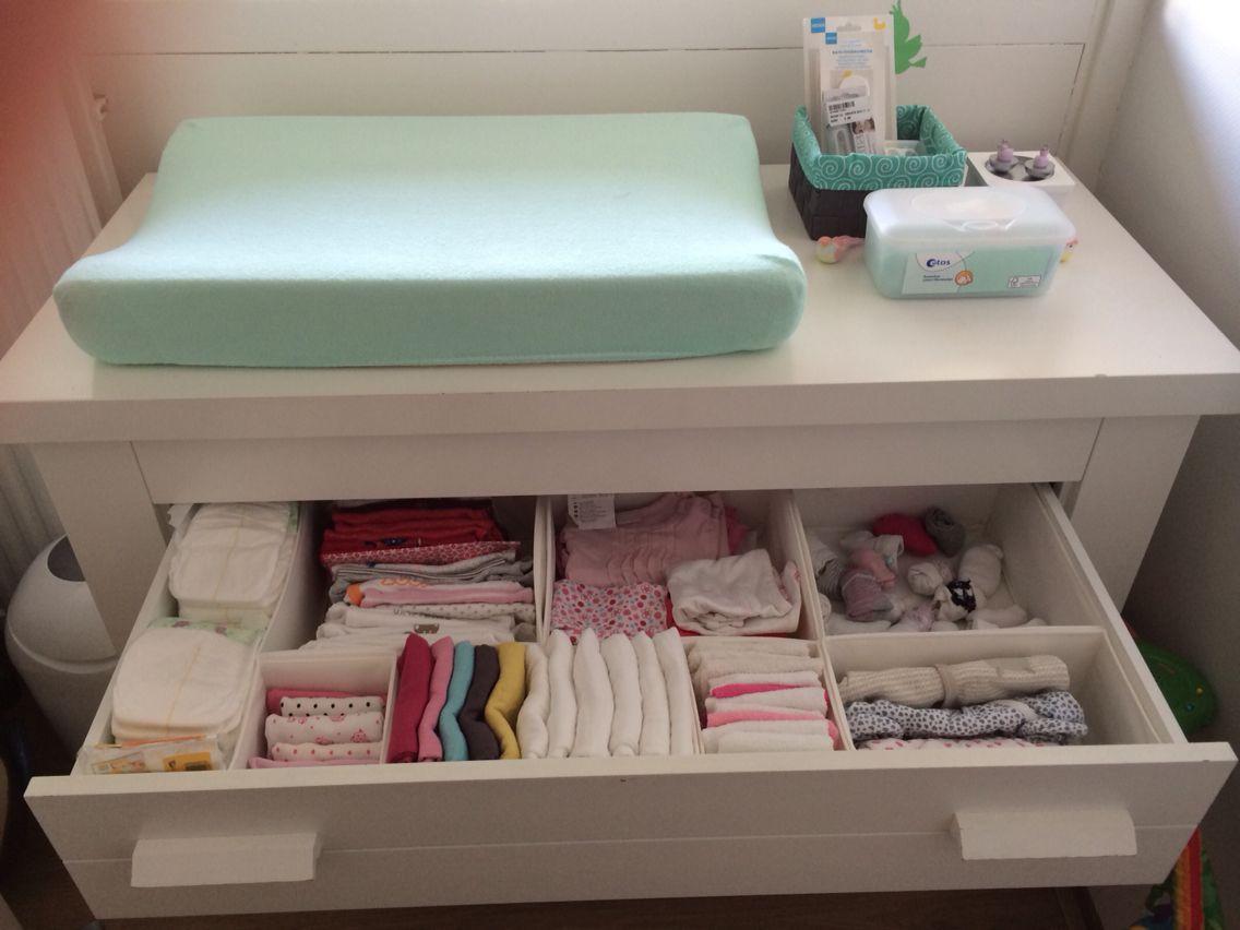Baby Slaapkamer Decoratie : Indeling commode baby kamer baby storage baby closet