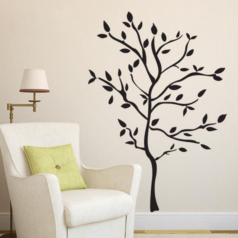 Tree wall stickers home window door sticker decoration for living