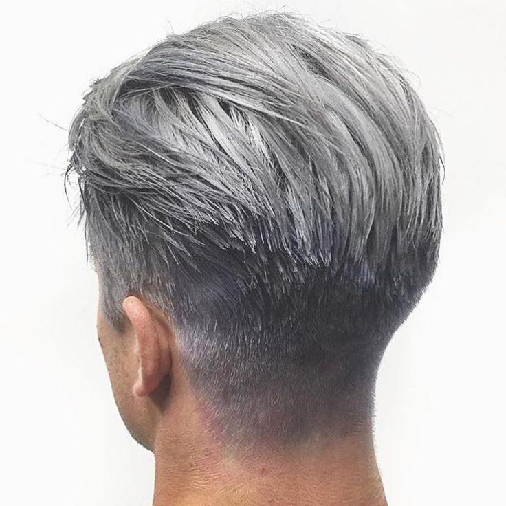 Image Result For Grey Feminine Hairstyles For Men