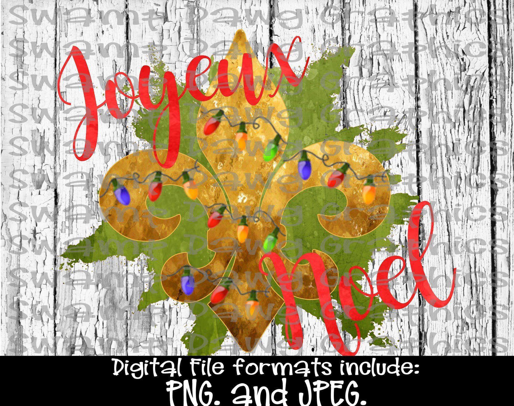 Joyeux Noel Clipart.Christmas Png Christmas Clipart Joyeux Noel Fleur De Lis
