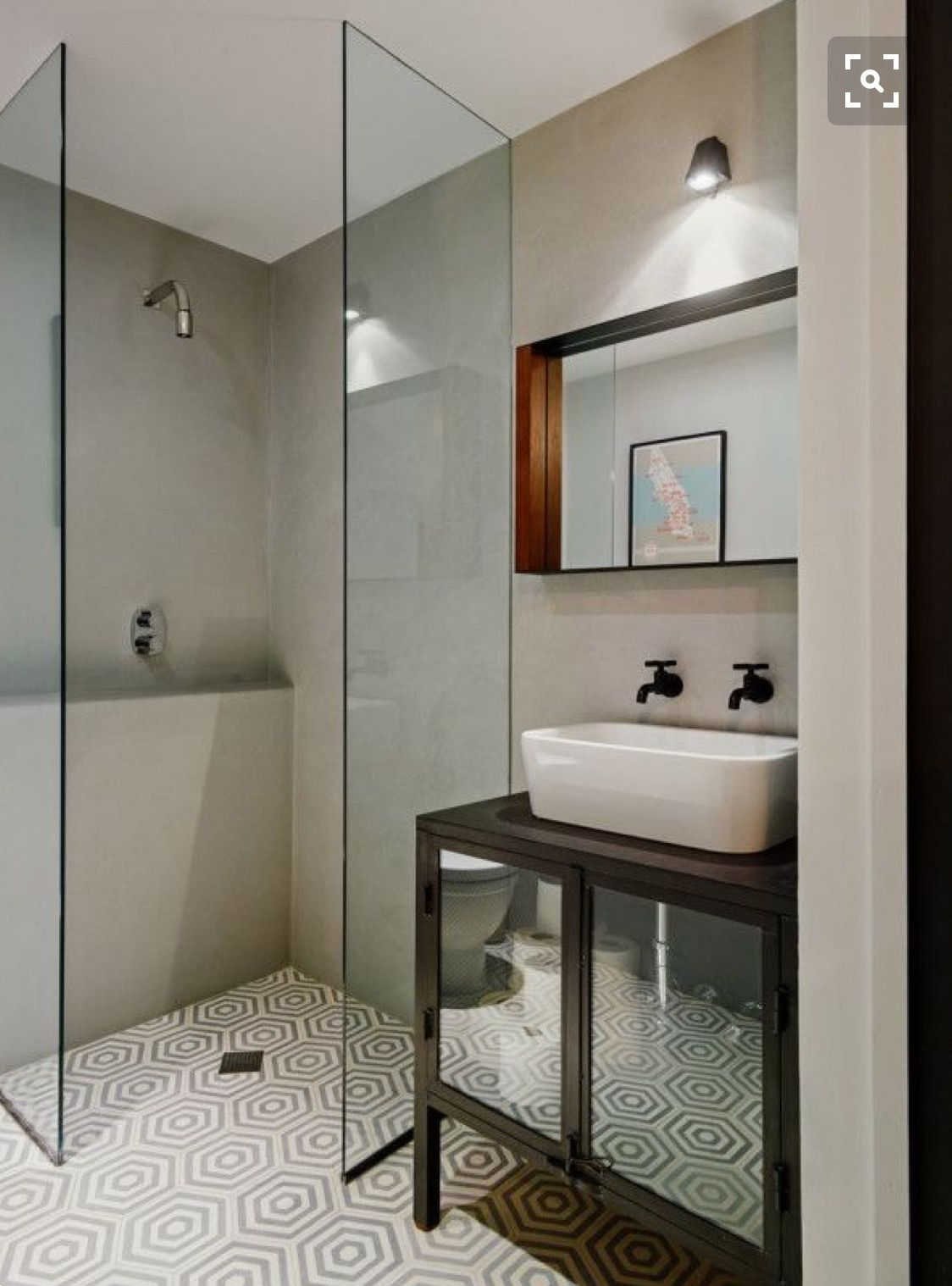 Kleines Bad Bodenfliesen Pin By Natasha Mckenna On Bathrooms Pinterest Badezimmer Bad