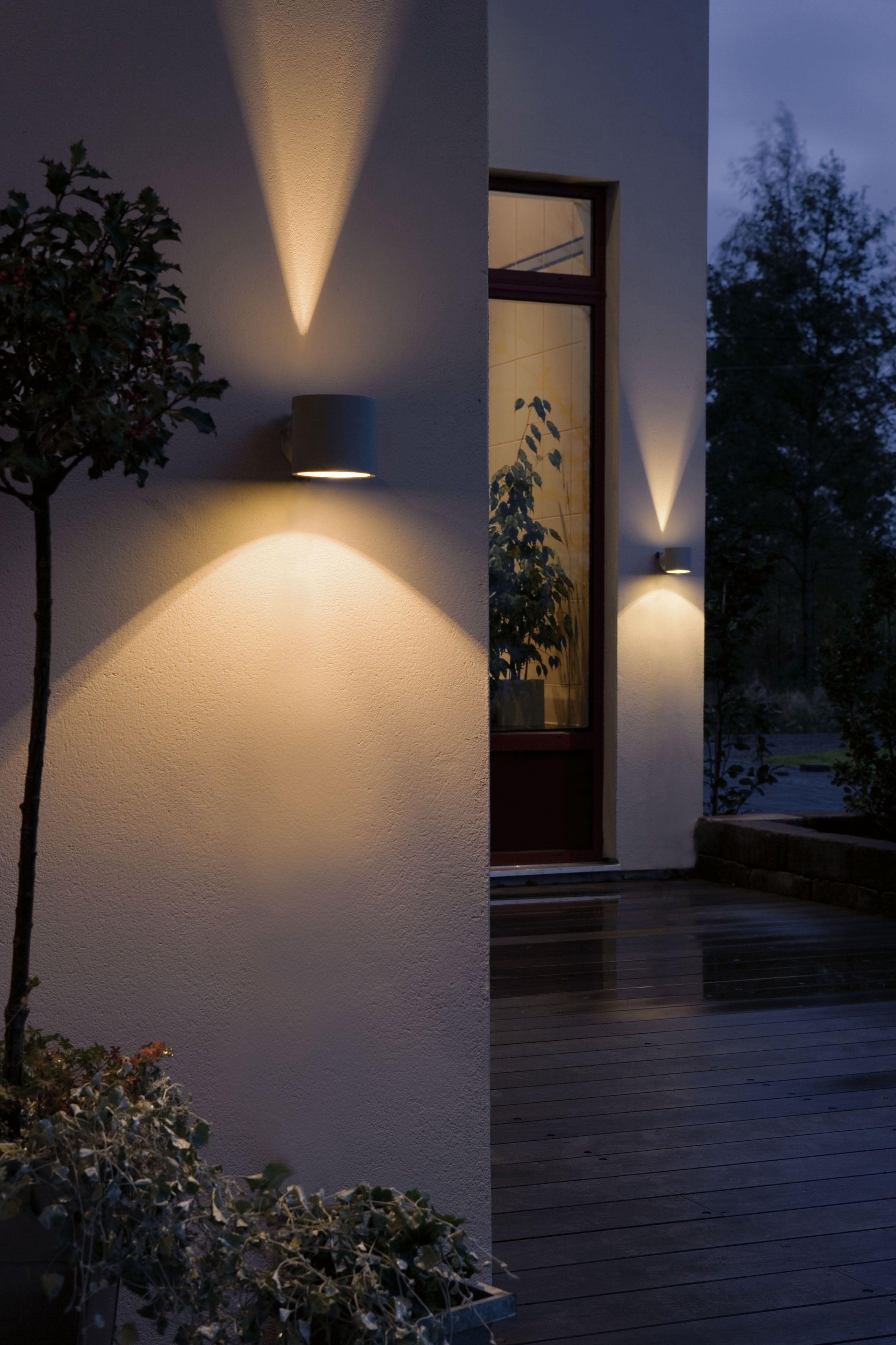 Ulkovalot Eclairage Piscine Eclairage Exterieur Terrasse Eclairage De La Facade