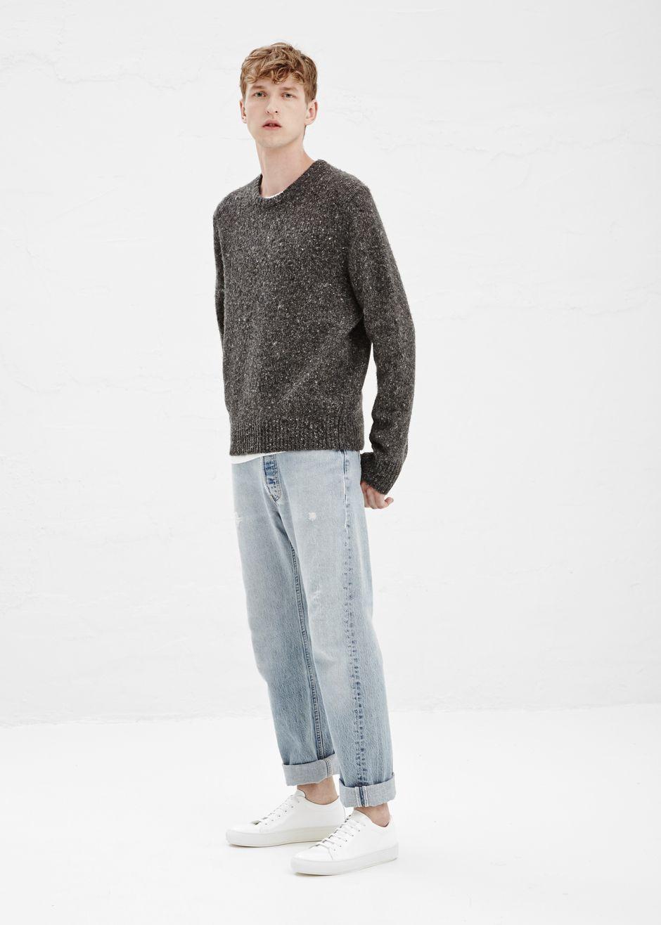 018f480b5ee Acne Studios Chet Don Sweater (Grey Mix)