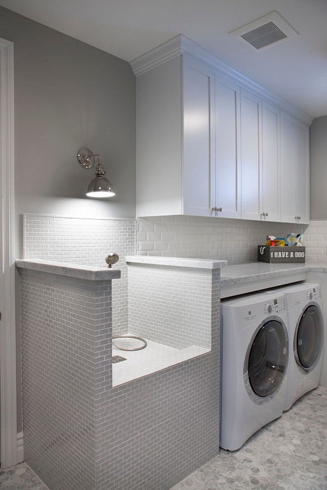 If You Have A Dog You Can Combine Your Laundry Room With A Pet