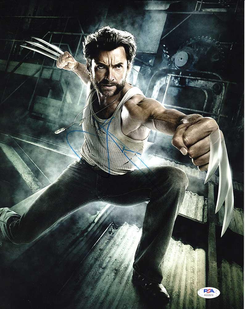 Hugh Jackman X Men Wolverine Logan Signed 11x14 Photo Certified Authentic Psa Dna Aftal In 2021 Jackman Hugh Jackman Wolverine