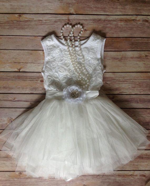 white toddler girls dress vintage toddler girls dress
