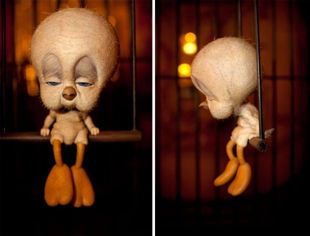 Realistic Cartoon Characters That Are The Stuff Nightmares Are - 18 realistic cartoon characters that are the stuff nightmares are made of