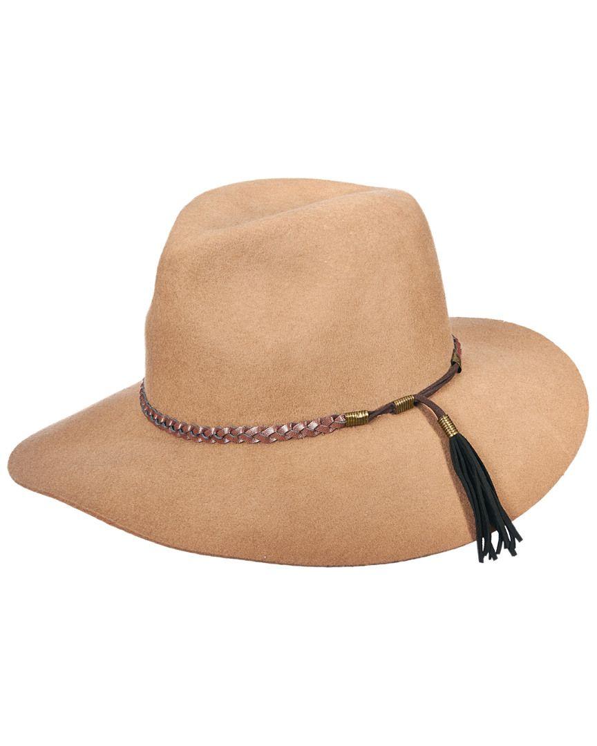 e629a867691 Brooklyn Hat Co. Women s Gemma Taupe Wool Rancher Hat is on Rue. Shop it  now.