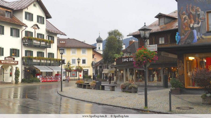 Oberammergau - Allemagne - Présentation, histoire, situation, photo et tourisme, Météo - SpoRegArm