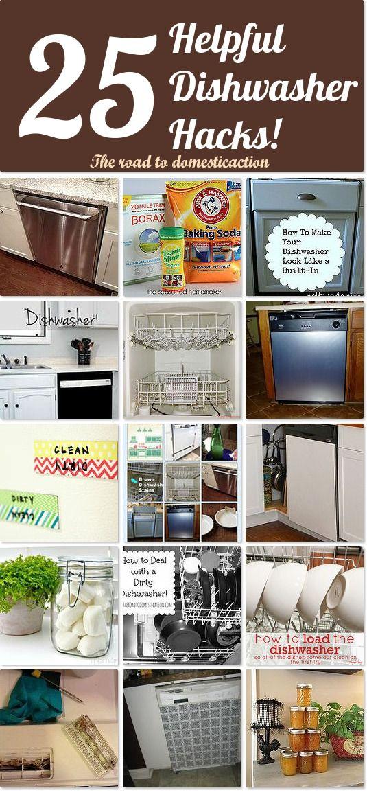 25 helpful dishwasher hacks Idea Box by Kristen From The ...
