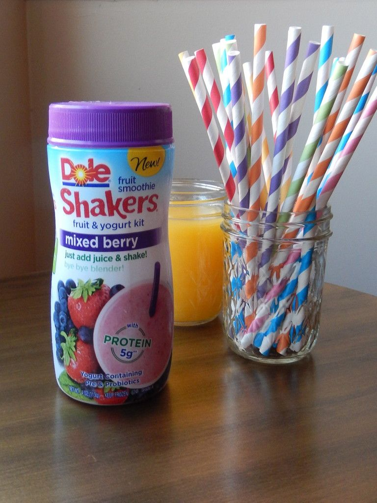 Dole Fruit Smoothie Shakers Mixed Berry Review Smoothie Recipes