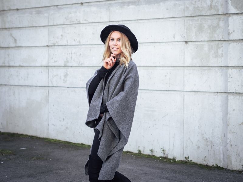 DIY - WOOL CAPE
