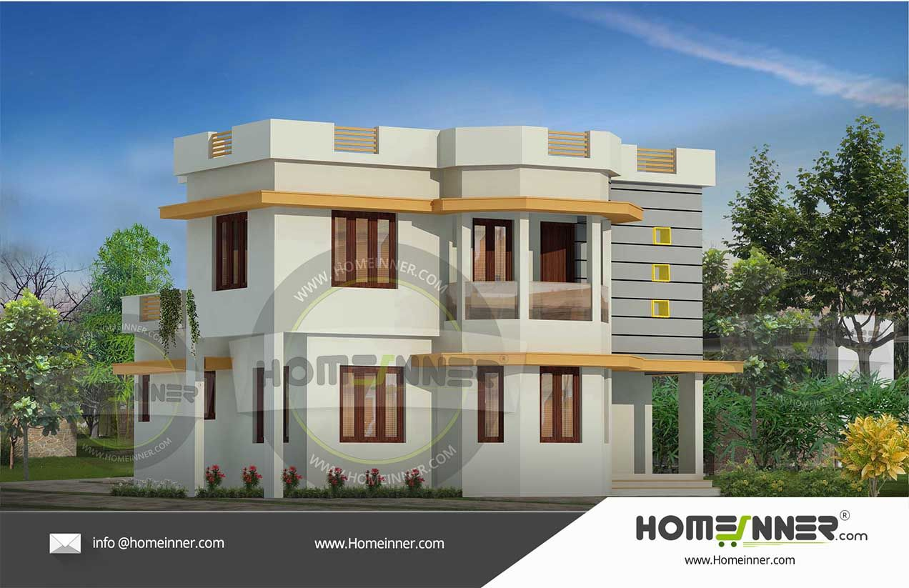 1400 sq ft 4 Bedroom Good Home Design | Indian house plans