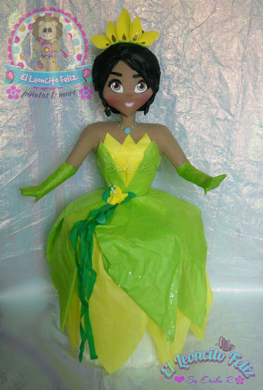 Tiana Disney Pinata The Princess and the Frog Party Disney Theme Princess Disney Princess Tiana Pinata Princess and the Frog Theme