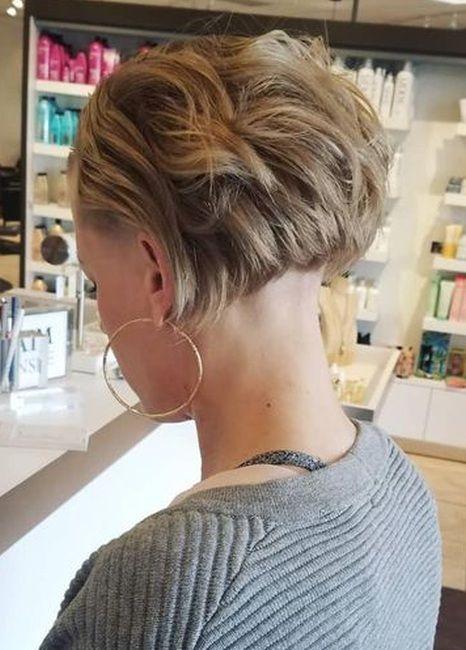 Pin auf Rasierte haare