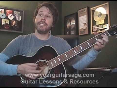 Guitar Lessons - Brown Eyed Girl by Van Morrison- cover chords ...