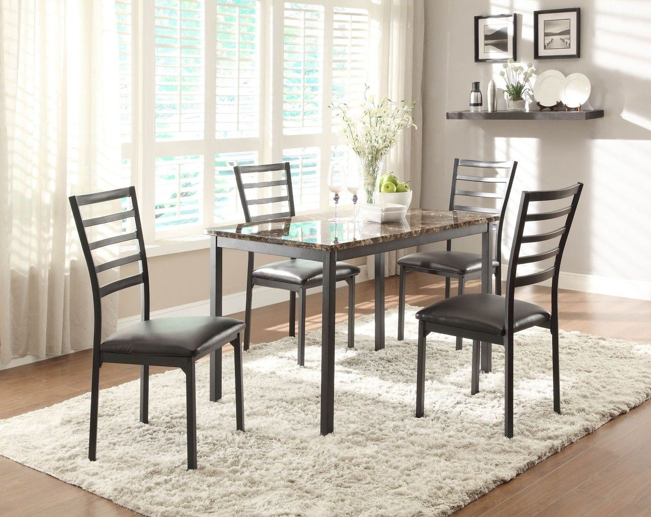Homelegance Flannery Dining Room Table Set 5038 48 Savvy
