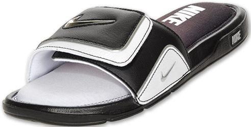 90a8c9f27 Nike Men s Comfort Slide 2 - Black White