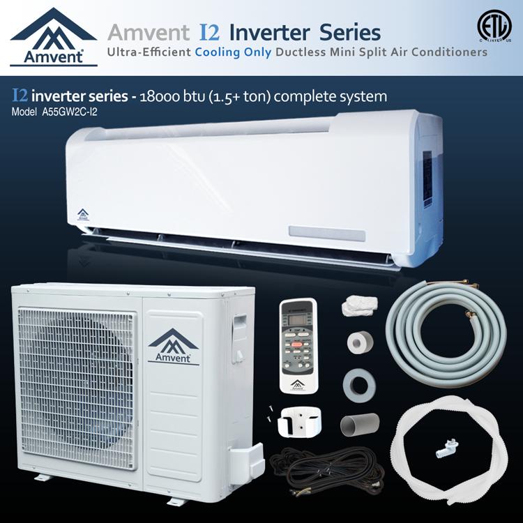 Amvent INVERTER A55GW2CI2 18000 BTU SEER 20.3 COOLING