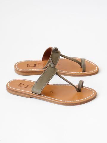 72c56091a99d Classic toe ring sandals. Slim