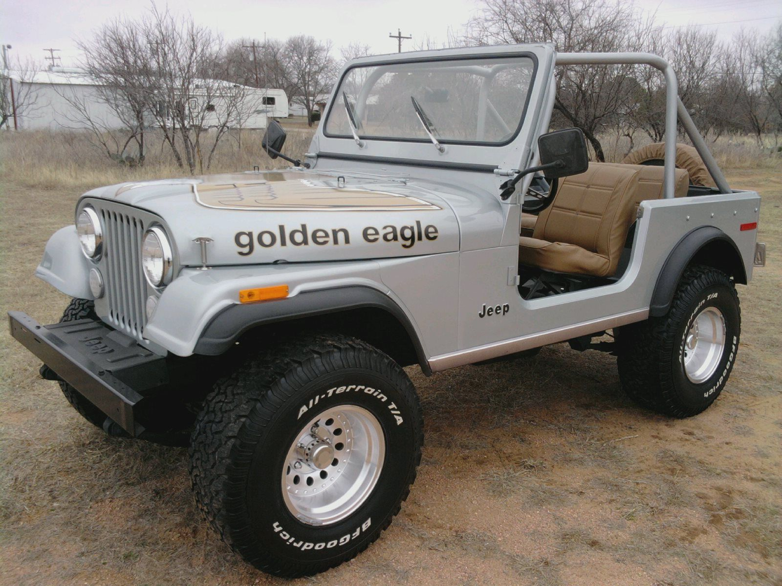 Golden Eagle Jeep Cj7 Jeep Cj Jeep