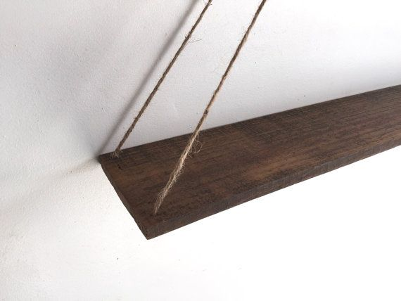 Hanging Pallet Shelf Rustic Decor Beach Decor Reclaimed