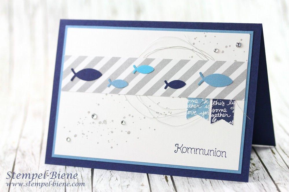 Kommunionskarte Für Jungs Einladungskarten Kommunion