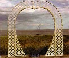 Brass Heart Archway