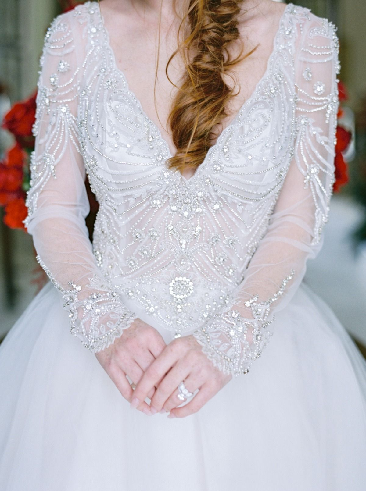 This Christmas Bridal Shoot Will Inspire Your Winter Wedding
