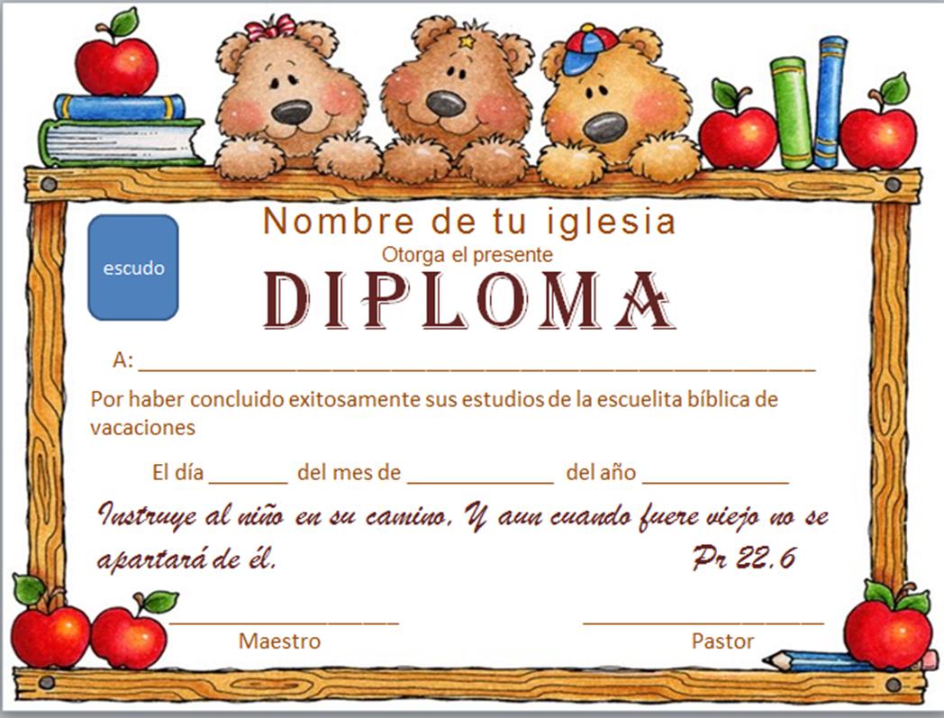 diplomas para niños - Buscar con Google | diplomas | Pinterest ...
