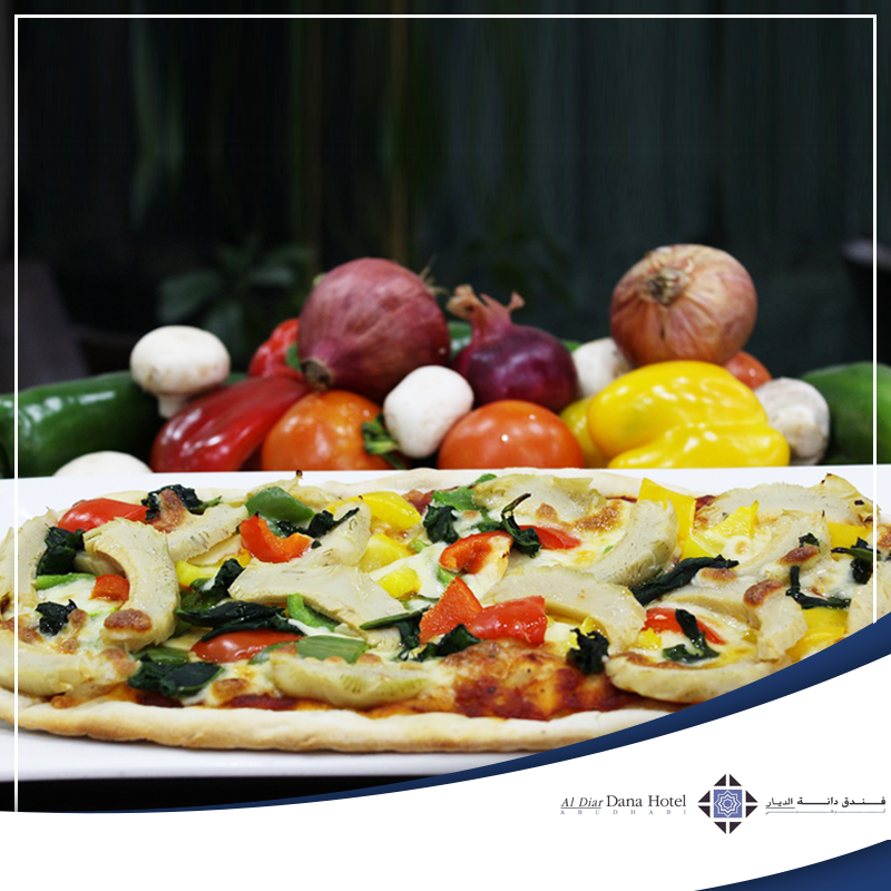 Our pizza of the month at Pizzeria Italiana, Al Diar Dana Hotel is the perfect gift to delight anyone who can't live without a little slice of heaven!