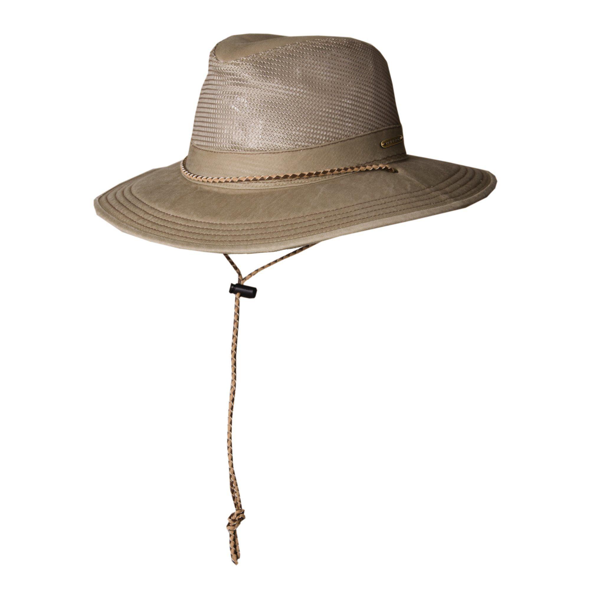 db05248521c Stetson Garment Washed Twill Safari Hat